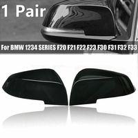 1 Paar Pair Gloss Black Wing Spiegelabdeckung Für BMW 1 2 3 4 SERIE F20 F30 F31 F32 F34 Rückspiegelabdeckung