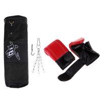 4 Panel Boxsackkette Für Muay Thai MMA Kickboxing Schwere Boxsäcke