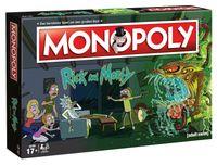 Monopoly Rick and Morty Edition Brettspiel Gesellschaftsspiel Spiel deutsch