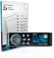 Bruni Basics-Clear 2x Schutzfolie kompatibel mit Garmin Fusion RA70 Folie