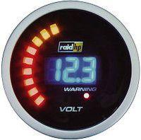 r.d.i. 660504 Kfz Einbauinstrument Voltmeter Messbereich 8 - 18 V NightFlight r.d.i.