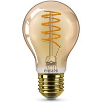 Philips LED Lampe ersetzt 25W, E27 Standardform A60, gold, warmweiß, 250 Lumen, dimmbar, 1er Pack [Energieklasse A]