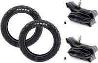 SET 2x Kenda Reifen 12,5 Zoll x 1,75 47-203 und 2x Schlauch für Kinderwagen, Roller, Laufrad, Kinderfahrrad, Fahrrad-Anhänger