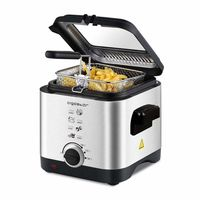 Aigostar Fries Mini Fritteuse,Temperaturkontrolle 1,5 L 900 W