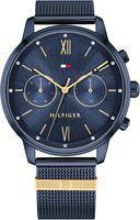 Tommy Hilfiger Damen Multi Zifferblatt Blau/Blau Edelstahl Armbanduhr   1782305