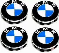 BMW 4x68mm Radnabenabdeckung Nabendeckel Nabenkappen Radkappen Neu