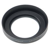 vhbw Gegenlichtblende kompatibel mit Nikon Nikkor Z DX 16-50 mm 1:3,5-6,3 VR - Aluminium Streulichtblende schwarz 46mm