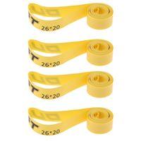 4er Pack, MTB Felgenstreifen, Felgenband (26 Zoll X 20 Mm), Pannensicherer Gürtel Für Mountainbike Reifen