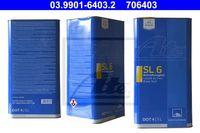 ATE Bremsflüssigkeit Bremsöl + BRAKE FLUID 5Liter