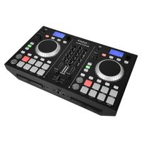 Board DJ - Mixer 2-Kanal + Dual CD - BLUETOOTH - IBIZA ULTRA STATION