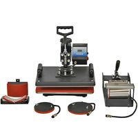 5-in-1 Multifunktions Transferpresse Hitzepresse 38cm x30cm