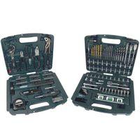 Mannesmann Werkzeugbox mit Schubladen, 163-tlg.