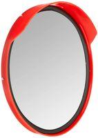 Wetterfester professioneller Verkehrsspiegel Beobachtungsspiegel Sicherheitsspiegel Kontrollspiegel Konvexspiegel Ø30 cm Top Sicht durch spezielle Dichtung im Spiegel