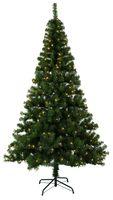"""Best Season LED-Weihnachtsbaum """"Ottawa"""" beleuchtet, outdoor ca.210 cm, 260 warm white LED, Kunststoff-Fuß, 609-01"""
