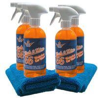 Shinykings Wash & Shine 66 CAR Wash XL 4x 0,5l mit 4x Spezialtuch
