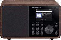 Telestar DIRA M14i Internetradio mit WLAN, DAB+, BT, USB, Netzwerkplayer, Holz