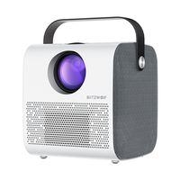 BlitzWolf® BW-VP5 Tragbarer LCD-Projektor 3800 Lumen 1280x720P HD Multimedia Bluetooth V4.0 Projektor mit 3Wx2 Lautsprechern Heimkino-Projektor EU Stecker