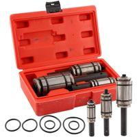 3X Auspuff Aufweiter Rohraufweiter Auspuffaufweiter Rohrausweiter Rohrspreizer Set 29-85 mm