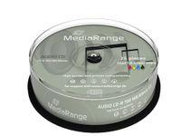 25 MediaRange Rohlinge Audio CD-R 80min printable