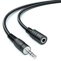 10m Klinkenkabel Klinke Verlängerung 3,5mm Stereo AUX Klinke Verlängerungskabel