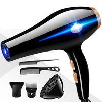 Haartrockner Ionen (2200W, Ionenpflege-Keramik-Ring: schonendes Styling & gleichmäßige Wärmeverteilung) Diffusor Kamm Salon Kit Haar Salon