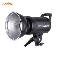 Godox SL-60W 5600K 60W Hochleistungs-LED-Videoleuchte mit Bowens-Halterung für Fotostudio-Fotografie-Videoaufzeichnung Weiße Version