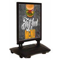 Kundenstopper WindPro® DIN A1 (Black Edition)