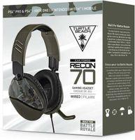 Turtle Beach Recon 70 Camo Grün Over-Ear Stereo Gaming-Headset