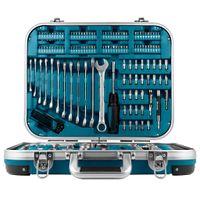 Makita 227-tlg. Werkzeugsatz für Heimreparaturen Silbern