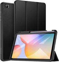 Hülle für Samsung Galaxy Tab S6 Lite 10.4 2020,Ultra Dünn Leicht Smart Cover,mit Stifthalter,mit Auto Schlaf/Wach Funktion,für Galaxy Tab S6 Lite 10.4 Zoll Tablet,Schwarz