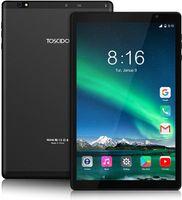 TOSCIDO Tablets 10 Zoll - 5G WiFi, Android 10.0, Octa Core 1.6 Ghz, 1920 x 1200 FHD, 64GB ROM, 4GB RAM, 13MP und 5MP Kamera, 4G Dual SIM/WiFi/Bluetooth 5.0/GPS, Batterie  6000 mAh, Typ C, P101, Farbe: Schwarz