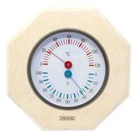 Sauna-Klimamesser von NICOL Thermometer Hygrometer Temperatur Luftfeuchtigkeit Sauna