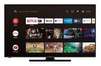 Hitachi U55KA6150 140 cm / 55 Zoll Fernseher (Android 9.0 Smart TV inkl. Prime Video/Netflix/YouTube, 4K UHD + HDR 10, Bluetooth, PVR-Ready, Triple-Tuner) [Modelljahr 2020]