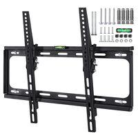 TV Wandhalterung 26 - 65 Zoll Halterung Monitor PC LCD LED Fernseher 55 neigbar flach kippbar