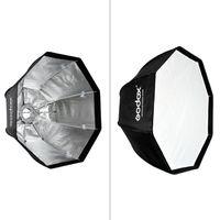 Godox SB-UE 80cm/31,5 Zoll Portable achteckige Umbrella Softbox mit Bowens Halterung für Speedlite