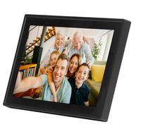 Denver Digitaler Bilderrahmen 25,6cm (10,1Zoll)  Frameo, Farbe: Schwarz