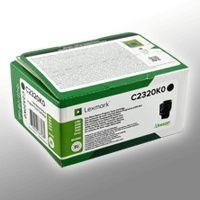 Lexmark Return-Toner     BK      C2320K0