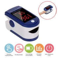 Pulsoximeter Finger Pulsoximeter kann den Puls und die Sauerstoffsättigung am Finger messen