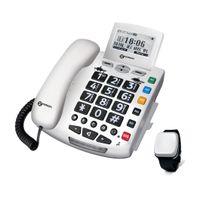 Geemarc PACK SERENITIES Notruftelefon mit Fallsensor Armband - Deutsche Version