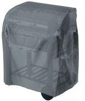 Tepro-Grillschutzhülle-Universal Abdeckhaube - für Grillwagen klein, anthrazit; 8400