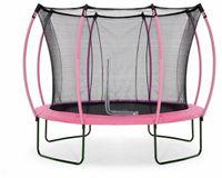Plum Springsafe Trampolin Colours mit Sicherheitsnetz, Farbe:Pink 305 cm