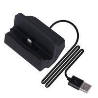 iPhone Lightning Dock - Dockingstation mit USB-Kabel - schwarz