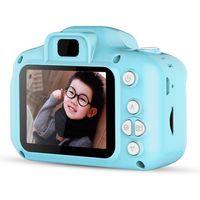 Docooler Mini Kids Camera, 1080P HD Digitalkamera mit 2-Zoll-LCD-Bildschirm für Kinder Weihnachten Geburtstagsgeschenk