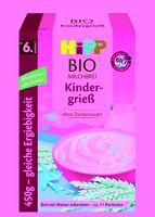 Hipp organic milk porridge children's semolina from the 6th month, 450g