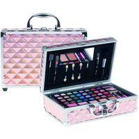 Casuelle Make-Up Koffer Roze/Holografisch.