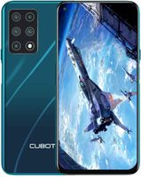CUBOT X30 Smartphone 15,71 cm (6,4 Zoll), 8+128 GB interner Speicher, Android 10, fünf Kameras, Dual SIM, NFC, Face ID, 1080P Display, 4200 mAh Akku + Schnellladen, Grün