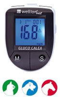 WellionVet Gluco Calea Blutzuckermessgerät, Option:1 Stück