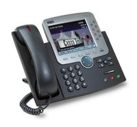 Cisco IP Phone 7971G-GE, Global, Gig Ethernet, base, Digital, G.711, G.729a, SCCP, DHCP, TFTP, LCD