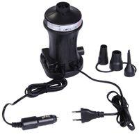 Blueborn Elektro Luftpumpe P130 ACDC elektrische 12V 230V Pumpe 130W Kompressor 250 L/min 0,65 PSI