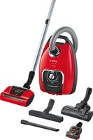 Bosch ProAnimal Beutelstaubsauger, 650 W, 74 Dezibel, Kunststoff, Rot